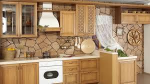 tiles backsplash affordable kitchen backsplash ideas together full size of traditional rustic kitchen design ideas with beige stone backsplash wooden cabinetry style rules