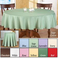 basic 70 inch tablecloth from collections etc