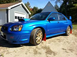 subaru 2005 stock 2005 subaru wrx sti 1 4 mile trap speeds 0 60 dragtimes com