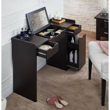 Silver Vanity Chair Bedroom Furniture Sets Corner Makeup Vanity Modern Vanity Table