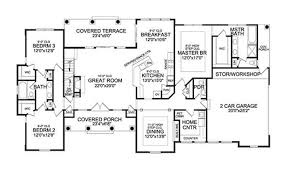 Single Story Four Bedroom House Plans Single Story House Plans With Bonus Room Above Garage Vdomisad