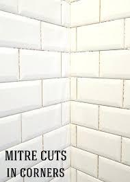beveled subway tile image 1 beveled subway tile backsplash