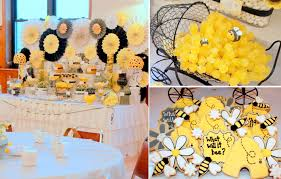 baby shower theme ideas for girl kara s party ideas what will it bee bumblebee gender neutral baby