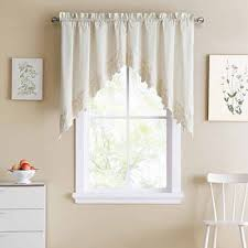 kitchen valances curtains u0026 drapes for window jcpenney