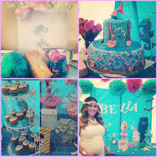 baby shower themes for girl 33 gorgeous mermaid baby shower ideas table decorating ideas