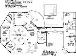 large ranch floor plans ranch home design plans ranch house plan anacortes 30 936 floor