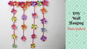 Diy Paper Home Decor by Diy Wall Hanging Home Decoration Idea How To Make Diy Room