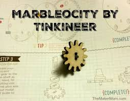 introducing the marbleocity diy marble roller coaster kit from tinkineer we tried out the mini