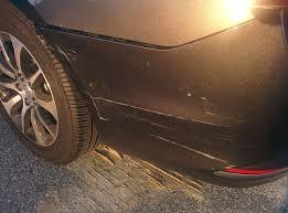 bumper damage repair or replace acurazine acura enthusiast