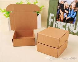 box personalized 2017 small kraft paper gift packaging box kraft card board