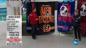 hsn football fan shop hsn football fan shop gifts 11 15 2016 03 pm youtube