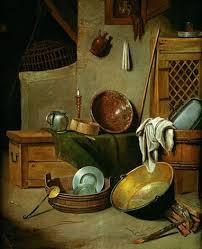 de cuisine bosch nature morte aux ustensiles de cuisine by pieter den bosch on artnet