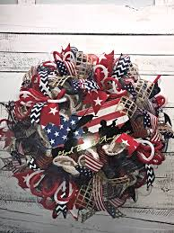 patriotic wreath 4th of july wreath fourth of july wreath