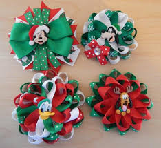 christmas hair bows hair bows for colorfulbows