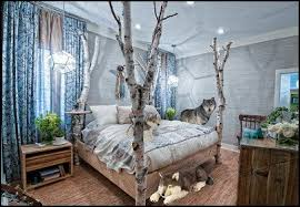 chambre n ative inspired rooms forest theme bedrooms wolf theme