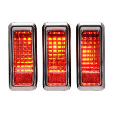 dakota digital led tail lights 1967 1968 mustang led tail lights dakota digital lat nr362
