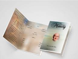 Funeral Program Printing Services General Card Funeral Program Template Funeral Templates
