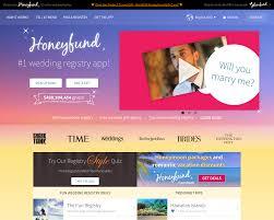 wedding registry website reviews honeyfund advertising mediakits reviews pricing traffic rate
