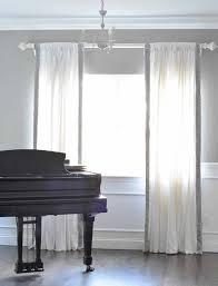 Greek Key Trim Drapes Trimming Plain Curtains Centsational Style