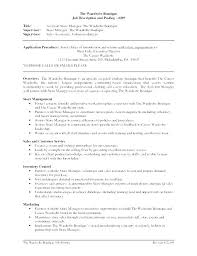 retail resume template retail manager resume sle retail manager resume template