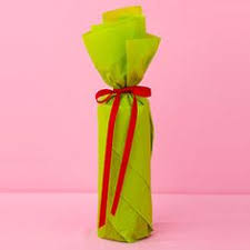 wine bottle wraps how to wrap a wine bottle this is so simple and pretty