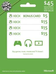 xbox cards microsoft 15 xbox gift cards 3 pack 5 green xbox gc2014 mp