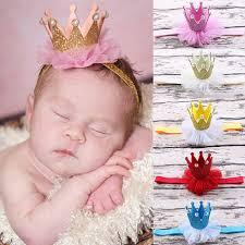 lace headwear rakuten baby girl princess faux pearl tiara hair