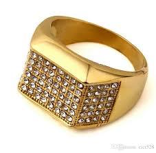 aliexpress buy nyuk new fashion american style gold 6 pecs hip hop rings ring size 9 10 11 12 men women gold diamond hip