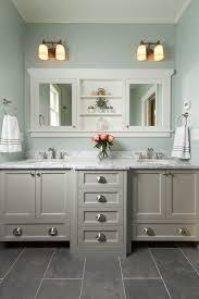 Tile Floor In Bathroom with Best 25 Grey Bathroom Cabinets Ideas On Pinterest Gray Bathroom