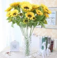 Sunflower Bouquets Discount Artificial Sunflower Bouquets 2017 Artificial Sunflower