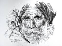 old man pencil drawing drawing art gallery