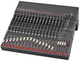 Sound Desk Phonic Sonic Station 16 Pro Analog 16 Mic Channel Mixing Desk
