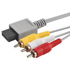 insten gninwiixcab5 6 u0027 av composite cable for nintendo wii wii u