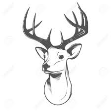 Deer Head by 9 784 Deer Head Stock Illustrations Cliparts And Royalty Free
