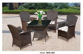 Rattan Patio Furniture Rattan Garden - comfortable high back armest chairs creative table rattan garden