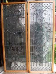 Antique Stained Glass Door by Stained Glass Door Home Decor Pinterest Glasses Doors And