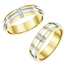 rings gold wedding images His and hers designer two colour gold wedding ring matching sets jpg