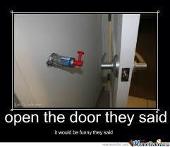 Door Meme - dont open the door by jscrimgeour meme center