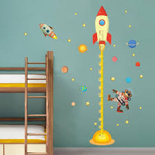 monkey wallpaper for walls wholesale outer space planet monkey pilot rocket home decal height