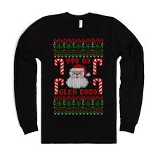 you go glen coco funny ugly christmas sweater t shirt mean