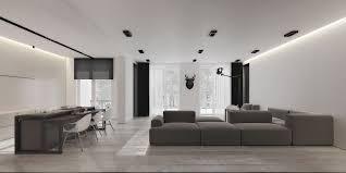 open floor plan design an open floorplan highlights a minimalist design