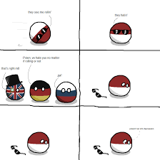 They See Me Rollin They Hatin Meme - they see me rollin polandball