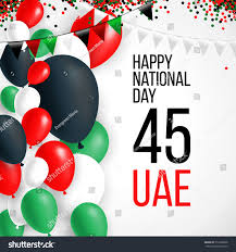 Colors Of Uae Flag United Arab Emirates Uae 45 National Stock Vector 512998636