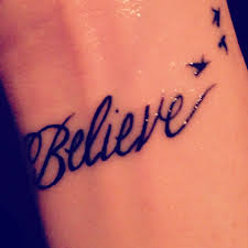 believe tattoo would be cute with small tinker bell or peter pan