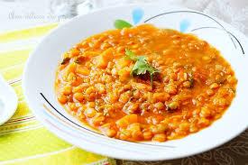lentille cuisine ragoût de lentilles à l algérienne مرقة العدس aux delices du