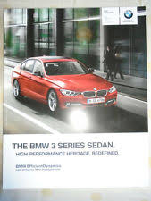 bmw 320i brochure 3 series bmw car sales brochures ebay
