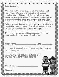 thanksgiving appreciation letter classroom pen pals tips and tricks for the year classroom