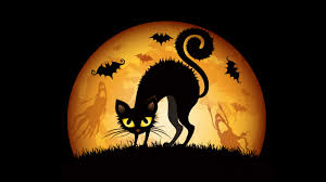 Halloween Kitty by Halloween Cats Bats Wallpapers In Jpg Format For Free Download