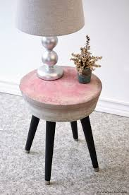 Pink Nightstand Side Table 5 Fantastic Diy Side Tables Under 25 From Diy Furniture Studio