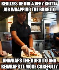 Chipotle Memes - chipotle employee memes memes pics 2018